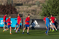 Mikel Merino during the training of Spanish national team under 21 at Ciudad del El futbol  in Madrid, Spain. March 21, 2017. (ALTERPHOTOS / Rodrigo Jimenez)