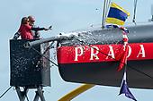 Lunna Rossa Prada Pirelli Team launch boat 2