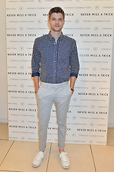 JIM CHAPMAN at the French Connection #NeverMissATrick Launch Party held at French Connection, 396 Oxford Street, London on 23rd July 2014.