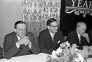 07/02/1963<br /> 02/07/1963<br /> 07 February 1963<br /> Brittain Dublin Ltd. Golden Jubilee reception and Dinner at the Hibernian Hotel, Dublin.
