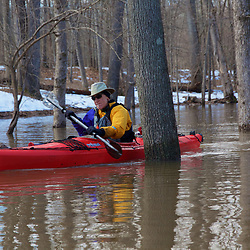 Paddling the Flood Waters of the Potomac