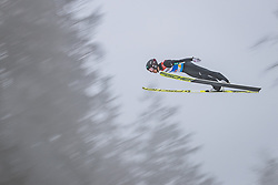 22.02.2019, Bergiselschanze, Innsbruck, AUT, FIS Weltmeisterschaften Ski Nordisch, Seefeld 2019, Nordische Kombination, Skisprung, im Bild Akito Watabe (JPN) // Akito Watabe of Japan during the Ski Jumping competition for Nordic Combined of FIS Nordic Ski World Championships 2019. Bergiselschanze in Innsbruck, Austria on 2019/02/22. EXPA Pictures © 2019, PhotoCredit: EXPA/ Dominik Angerer