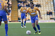 Jacob Mellis of Mansfield Town (8) during the The FA Cup match between Mansfield Town and Charlton Athletic at the One Call Stadium, Mansfield, England on 11 November 2018.