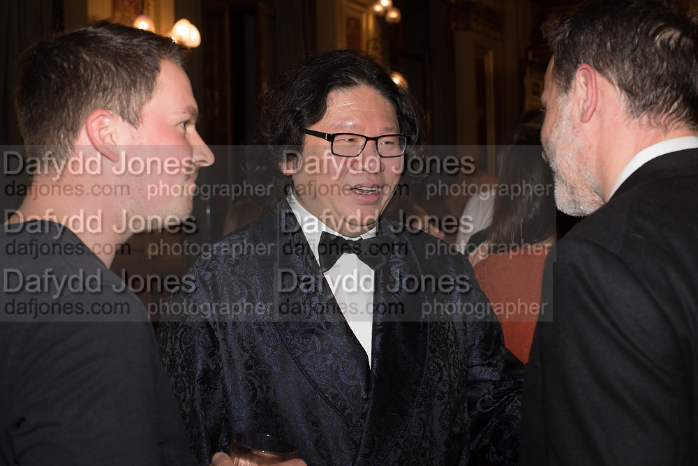 BRUNO WANG, TenTen. The Government Art Collection/Outset Annual Award. Champagne reception to announce the inaugural artist Hurvin Anderson and unveil his 2018 print. Locarno Suite, Foreign and Commonwealth Office. SW1. 2 October 2018