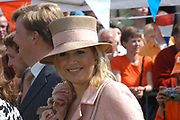 On Queensday, april 30th the Queen attends the celebrations of Queensday in Scheveningen near the Hague.<br />