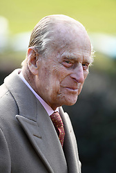 File photo dated 04/02/18 of the Duke of Edinburgh attending St Peter and Paul Church in West Newton, Norfolk, for a Sunday morning service. The Duke of Edinburgh has died, Buckingham Palace has announced. Issue date: Friday April 9, 2020.