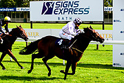 Star Prize ridden by Faye McManoman and trained by Nigel Tinkler wins the Signs Express Novice Stakes - Mandatory by-line: Dougie Allward/JMP - 10/07/2020 - HORSE RACING - Bath Racecourse - Bath, England - Bath Races