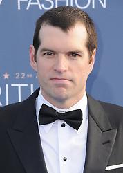 Timothy Simmons  bei der Verleihung der 22. Critics' Choice Awards in Los Angeles / 111216
