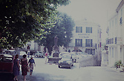 Historic village of Mougins, Alpes-Maritimes department in southeastern France, France 1960s