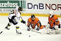 Ishockey, 13. september 2012 , Eliteserien , Get-ligaen<br /> Frisk Asker - Stavanger Oilers<br /> <br /> Niclas Dahlberg , Frisk<br /> Billy Maday , Oilers