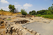 The Byzantine Church of Panias. Hermon Stream Nature reserve and Archaeological Park (Banias) Golan Heights Israel