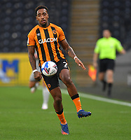 Hull City's Mallik Wilks<br /> <br /> Photographer Dave Howarth/CameraSport<br /> <br /> The EFL Sky Bet League One - Hull City v Burton Albion - Saturday 14th November 2020 - KCOM Stadium - Kingston upon Hull<br /> <br /> World Copyright © 2020 CameraSport. All rights reserved. 43 Linden Ave. Countesthorpe. Leicester. England. LE8 5PG - Tel: +44 (0) 116 277 4147 - admin@camerasport.com - www.camerasport.com