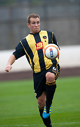 Lee Currie, Berwick Rangers..Berwick Rangers 0 v 1 Annan Athletic, 1/10/2011..Pic © Michael Schofield.