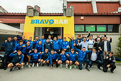 Group photo of team Bravo after the football match between NK Domzale and NK Aluminij in 36th Round of Prva liga Telekom Slovenije 2020/21, on May 22, 2021 in Sportni park Domzale, Slovenia. Photo by Vid Ponikvar / Sportida