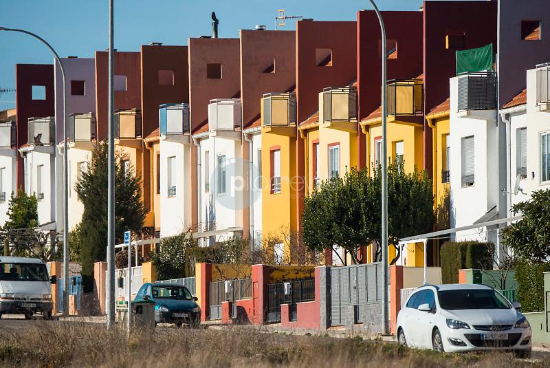 Casas y edificios. Almansa. Albacete ©ANTONIO REAL HURTADO / PILAR REVILLA