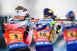 March 16, 2019 - –Stersund, Sweden - 190316 Tiril Eckhoff of Norway  competes in the Women's 4x6 km Relay during the IBU World Championships Biathlon on March 16, 2019 in Östersund..Photo: Petter Arvidson / BILDBYRÃ…N / kod PA / 92268 (Credit Image: © Petter Arvidson/Bildbyran via ZUMA Press)