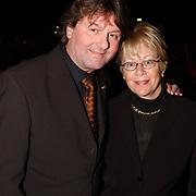 Corrie Konings 35 jaar in vak, Albert West en vrouw Joke