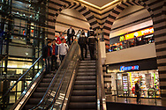 The Kayseri Forum shopping centre in Kayseri and it's faux Byzantine architecture, is one of many recently built malls in the industrial city located in central Anatolia, Turkey.