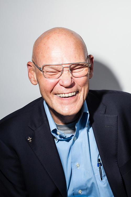 James Carville in the Business Insider studios, 2017
