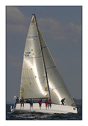 Bell Lawrie Scottish Series 2008. Fine North Easterly winds brought perfect racing conditions in this years event...GBR51R Argie Bargie King 40
