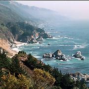 Reis Amerika, kust langs hghway one tussen Los Angeles en San Francisco