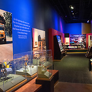 An exhibit on African culture at the Smithsonian National Museum of Natural History on the National Mall in Washington DC.