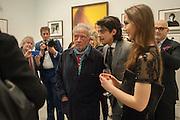 DAVID BAILEY; FENTON BAILEY; SARAH STANBURY, Opening of Bailey's Stardust - Exhibition - National Portrait Gallery London. 3 February 2014