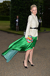 TANJA GULLESTRUP at The Ralph Lauren & Vogue Wimbledon Summer Cocktail Party at The Orangery, Kensington Palace, London on 22nd June 2015.  The event is to celebrate ten years of Ralph Lauren as official outfitter to the Championships, Wimbledon.