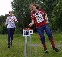 Orientering, 21. juni 2002. NM sprint. Karianne Ruud, Fredrikstad.