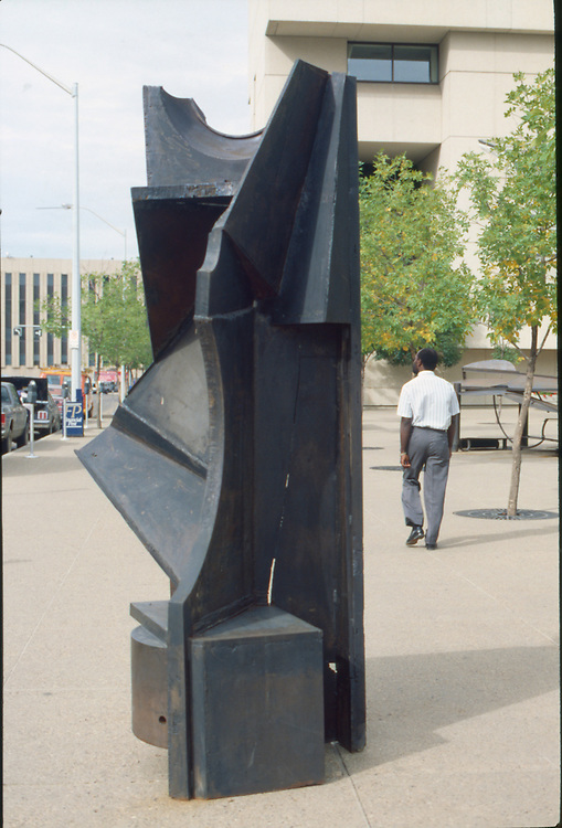 Body and Soul, Steel Sculpture, by Peter Hide