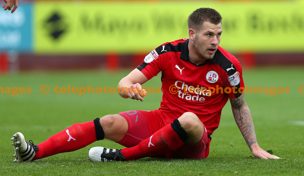 during the FA Cup match between Crawley Town and Bristol Rovers at the Checkatrade Stadium in Crawley. November 5, 2016.<br /> James Boardman / Telephoto Images<br /> +44 7967 642437