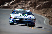 June 26-30 - Pikes Peak Colorado.  Layne Schranz works through sector 2 on the mountain during practice for the 91st running of the Pikes Peak Hill Climb.