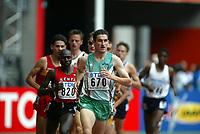 Friidrett, 23. august 2003, VM Paris,( World Championschip in Athletics),    Isaac Songok, Kenya og Gareth Turnbull, Irland