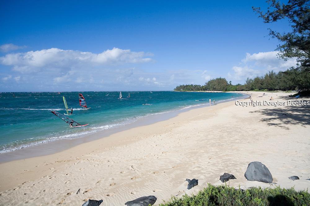 Windsurfing, Kanaha Beach Park, Maui, Hawaii<br />