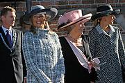 Zijne Hoogheid Prins Floris van Oranje Nassau, van Vollenhoven en mevrouw mr. A.L.A.M. Söhngen zijn donderdag 20 oktober in het stadhuis van Naarden in het burgelijk huwelijk getreden. De prins is de jongste zoon van Prinses Magriet en Pieter van Vollenhoven.<br /> <br /> 20OCT, 2005 - Civil Wedding Prince Floris and Aimée Söhngen. <br /> <br /> Civil Wedding Prince Floris and Aimée Söhngen in Naarden. The Prince is the youngest son of Princess Margriet, Queen Beatrix's sister, and Pieter van Vollenhoven. <br /> <br /> Op de foto / On the photo;<br /> <br /> <br /> Hare Koninklijke Hoogheid Prinses Máxima der Nederlanden<br /> <br /> Her royal highness princess Máxima of the The Netherlands