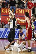 DESCRIZIONE : Roma Lega A 2008-09 Lottomatica Virtus Roma Carife Ferrara<br /> GIOCATORE : Luigi Datome<br /> SQUADRA : Lottomatica Virtus Roma AIAP <br /> EVENTO : Campionato Lega A 2008-2009<br /> GARA : Lottomatica Virtus Roma Carife Ferrara<br /> DATA : 29/03/2009<br /> CATEGORIA : delusione arbitro referees fallo<br /> SPORT : Pallacanestro<br /> AUTORE : Agenzia Ciamillo-Castoria/E.Castoria<br /> Galleria : Lega Basket A1 2008-2009<br /> Fotonotizia : Roma Campionato Italiano Lega A 2008-2009 Lottomatica Virtus Roma Carife Ferrara<br /> Predefinita :