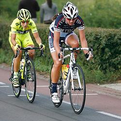 Boels Rental Ladiestour 2013 Stage 6 Bunde - Berg en Terblijt Chantal Blaak en Marta Tagliaffero