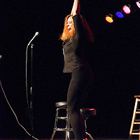 Michelle Wolf as Kathy Griffin - Schtick or Treat 2012 - November 4, 2012 - Littlefield