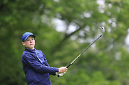 Christopher Buckley (Youghal) during the Connacht U14 Boys Amateur Open, Ballinasloe Golf Club, Ballinasloe, Galway,  Ireland. 10/07/2019<br /> Picture: Golffile   Fran Caffrey<br /> <br /> <br /> All photo usage must carry mandatory copyright credit (© Golffile   Fran Caffrey)