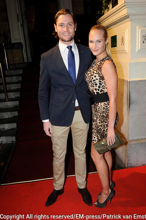 Uitreiking Beau Monde Awards in het Amstel Hotel, Amsterdam.<br /> <br /> Op de foto:  Kimberley Klaver