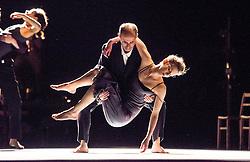 © Licensed to London News Pictures. 05/06/2013. Clod Ensemble's Zero, London Premier. Sadler's Wells Theatre, London. Picture features: Uri Roodner & Antonia Grove. Photo credit: Tony Nandi/LNP