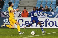 Goal Floyd AYITE - 03.01.2014 - Bastia / Lille - Coupe de France -<br />Photo : Michel Maestracci / Icon Sport