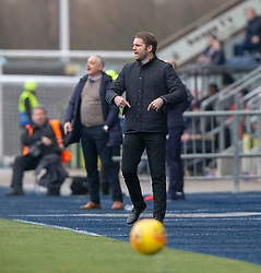 Dundee United's manager Robbie Neilson. Falkirk 1 v 1 Dundee United, Scottish Championship game played 23/2/2019 at The Falkirk Stadium.
