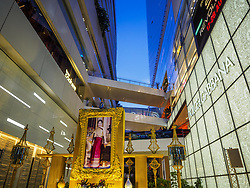 August 12, 2017 - Bangkok, Bangkok, Thailand - A portrait of Queen Sirikit in front of EmQuartier Mall during her 85th birthday observances. She was the queen consort of King Bhumibol Adulyadej (or Rama IX) and is the mother of King Vajiralongkorn (or Rama X). She became the Queen Dowager upon the death of her husband, Bhumibol Adulyadej, the Late King of Thailand. She was born on 12 August 1932. Her birthday is celebrated as Mothers' Day in Thailand. (Credit Image: © Sean Edison via ZUMA Wire)