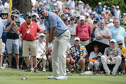 August 9, 2018 - Town And Country, Missouri, U.S - MATT KUCHAR from Sea Island Georgia, USA  gets ready to tee off on hole number 6 during round one of the 100th PGA Championship on Thursday, August 8, 2018, held at Bellerive Country Club in Town and Country, MO (Photo credit Richard Ulreich / ZUMA Press) (Credit Image: © Richard Ulreich via ZUMA Wire)