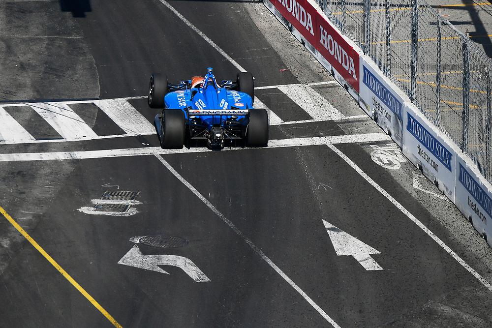 Scott Dixon, Chip Ganassi Racing Honda<br /> Sunday 15 July 2018<br /> Honda Indy Toronto<br /> Verizon IndyCar Series<br /> Streets of Toronto ON CAN<br /> World Copyright: Scott R LePage