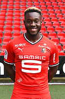Joris Gnagnon during photoshooting of Stade Rennais for new season 2017/2018 on September 19, 2017 in Rennes, France. (Photo by Philippe Le Brech/Icon Sport)