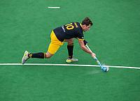 BLOEMENDAAL  - Gijs Campbell (Den Bosch)   tijdens de oefenwedstrijd Bloemendaal-Den Bosch (m) .  COPYRIGHT KOEN SUYK