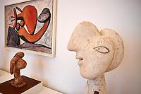 France, Paris (75), Musee Picasso, Tête et Buste de Femme, 1931 // France, Paris, Picasso museum, Head and Bust of Woman