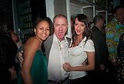 RACHAEL BARRET; DAMIEN HIRST, Dom PŽrignon with Alex Dellal, Stavros Niarchos, and Vito Schnabel celebrate Dom PŽrignon Luminous. W Hotel Miami Beach. Opening of Miami Art Basel 2011, Miami Beach. 1 December 2011. .<br /> RACHAEL BARRET; DAMIEN HIRST, Dom Pérignon with Alex Dellal, Stavros Niarchos, and Vito Schnabel celebrate Dom Pérignon Luminous. W Hotel Miami Beach. Opening of Miami Art Basel 2011, Miami Beach. 1 December 2011. .